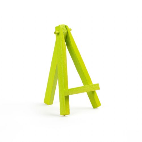"Lime Colour Mini Easel 5"" - Beech Wood"